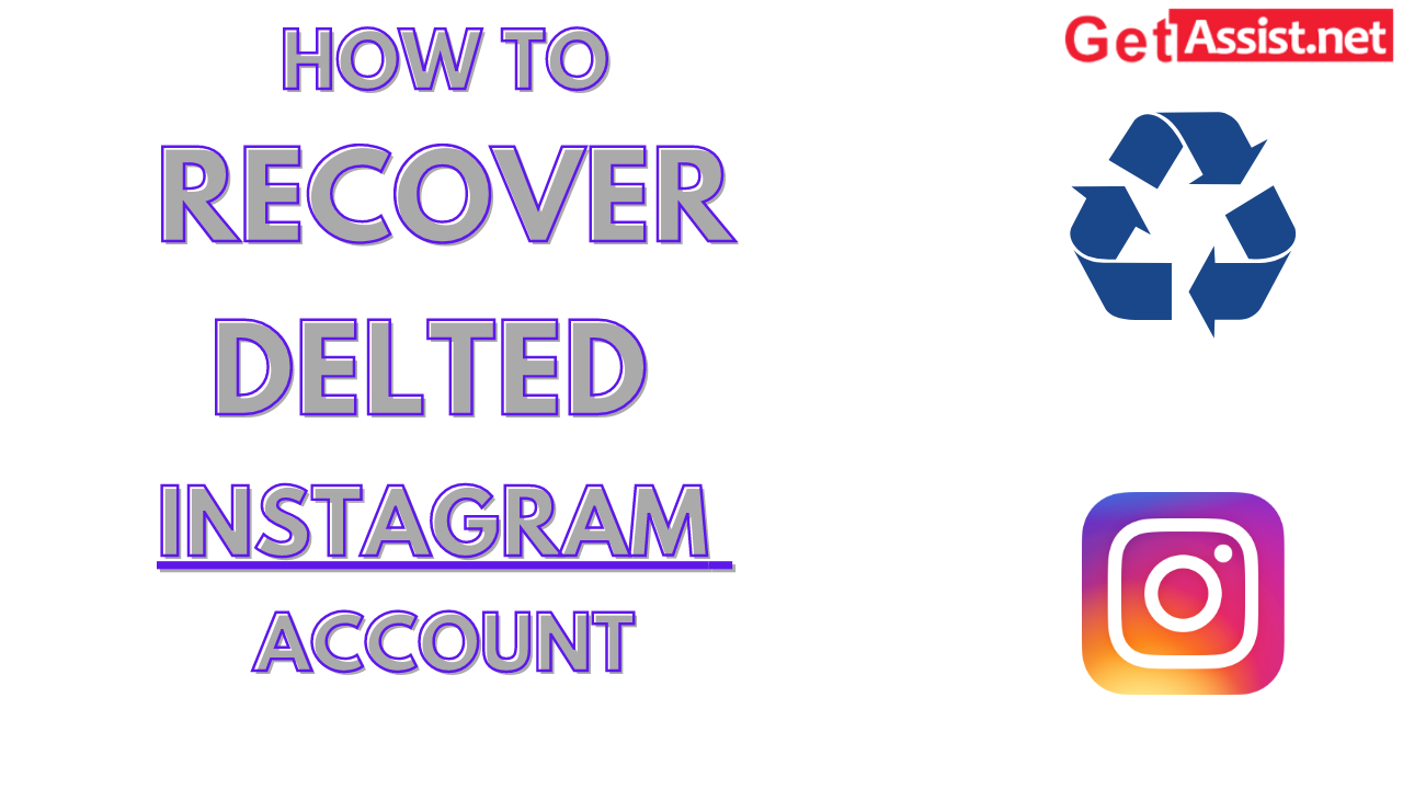 How to recover deleted Instagram account?