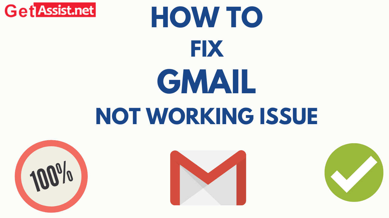 How to fix gmail is not working issue